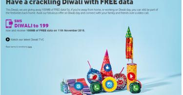 diwali vodafone 100 mb free