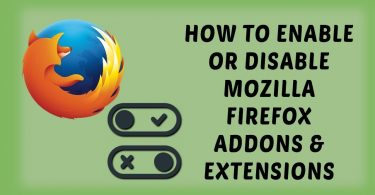 Firefox-Disable-Addons-Update-Check